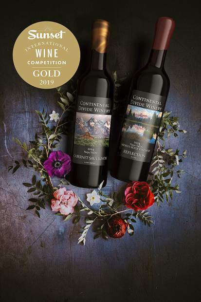 Continental Divide's winning wines included their artist series Napa Valley cabernet sauvignon and their artist series Reflection, a Bordeaux-style red blend crafted from merlot, malbec, cabernet sauvignon and petit berdot.