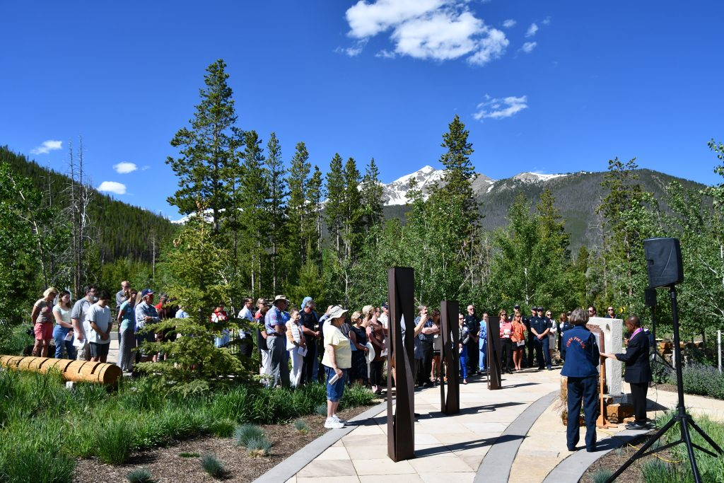 Dozens gather in remembrance of fallen Flight For Life pilot