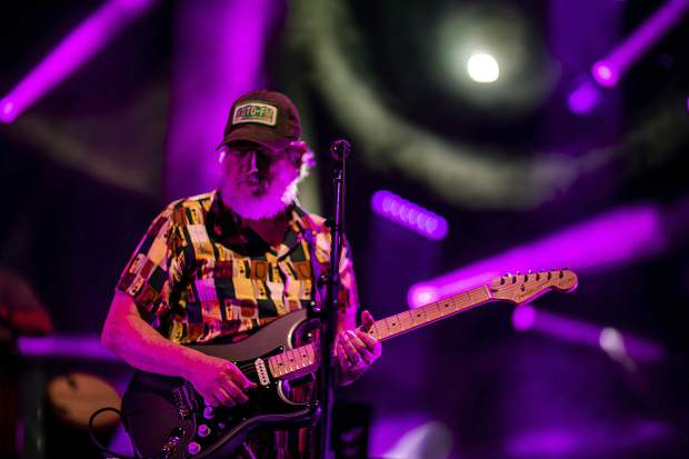 String Cheese Incident band member Bill Nershi performs at the Dillon Amphitheater on July 17, 2018, in Dillon. Their two-night shows are sold out, but ticket holders should know that the doors at the Dillon Amphiteather, W. Lodgepole St., open at 5 p.m. and the music begins at 6 p.m. on both Tuesday, July 16, and Wednesday, 17. There will be a preparty at 10 Mile Music Hall, 710 Main St., Frisco, before Wednesday's show. Visit 10MileMusic.com to purchase tickets.