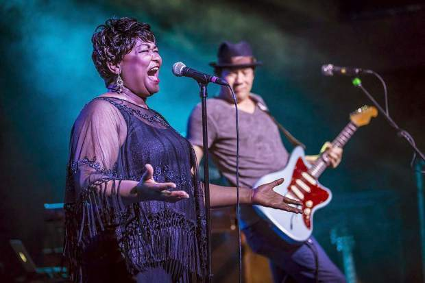 "Hazel Miller's voice has been called ""stunning, moving and powerful"" and she has been a sought after performer in Colorado for the past 24 years. Whether Miller is singing blues, jazz, pop, or Gospel, her voice charges the songs with a primal dose of genuine soul. Miller performs for free at 7 p.m. at the Dillon Amphitheater, W. Lodgepole St. Visit TownOfDillon.com for more information."