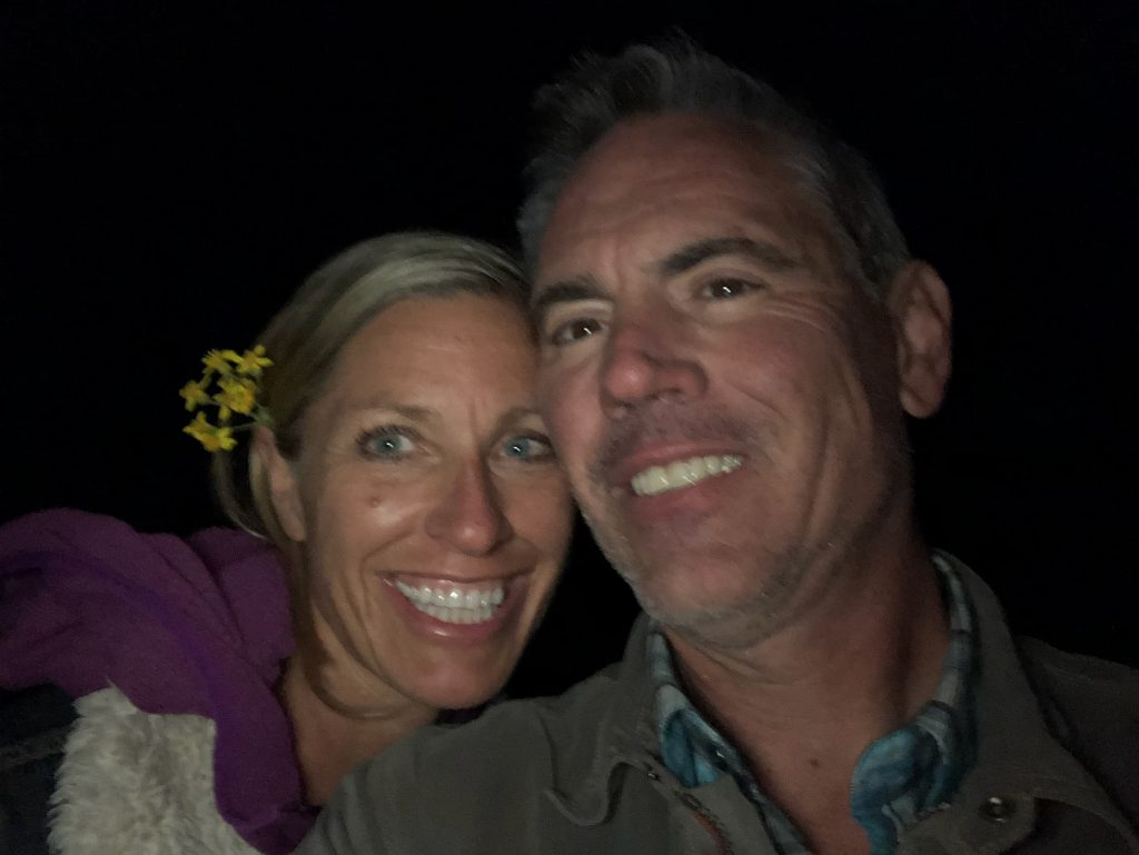 Scott Still, 53, and his wife Cory Baker.