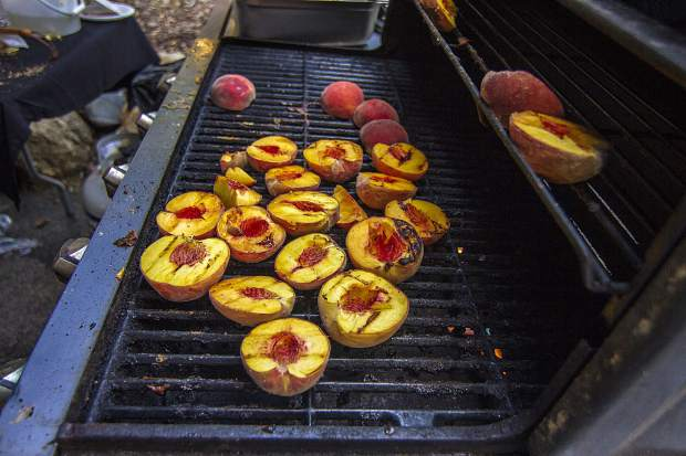 Mountain Town Music Festival will have a variety of local food available, such as dishes made with grilled Palisade peaches.