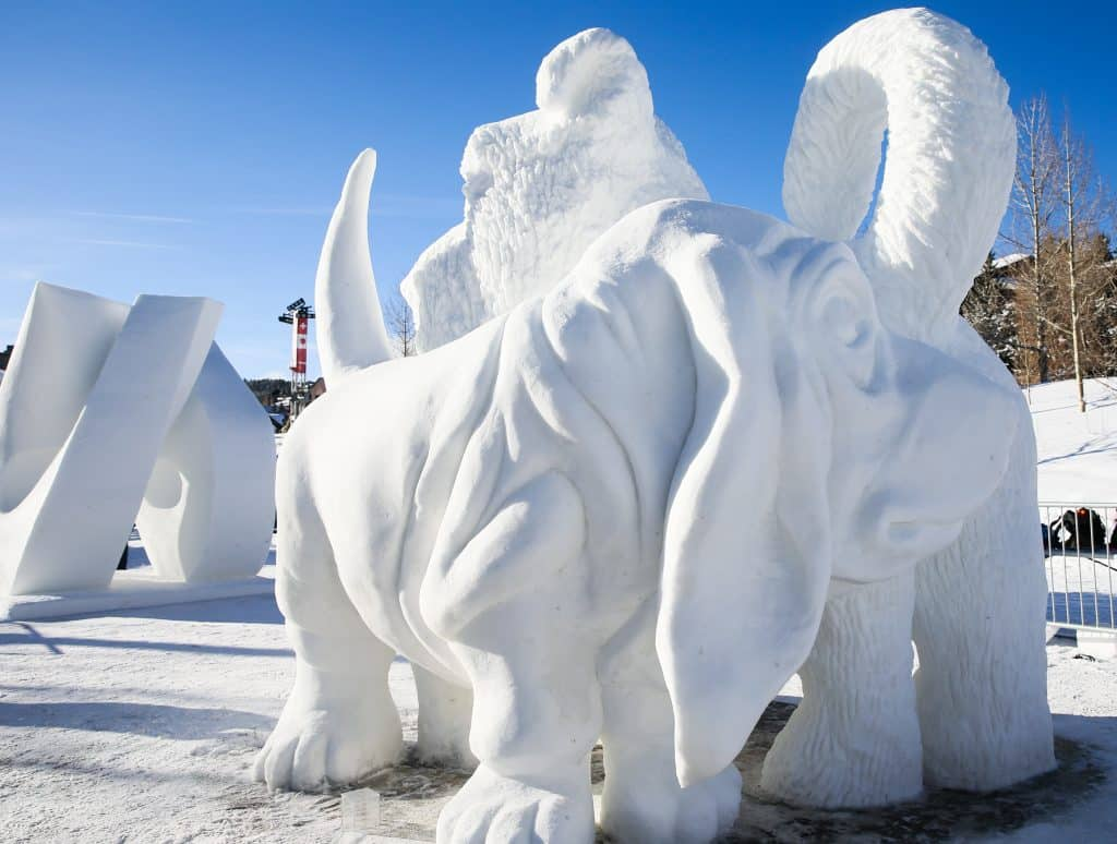 Winners announced for 30th International Snow Sculpture Championships in Breckenridge