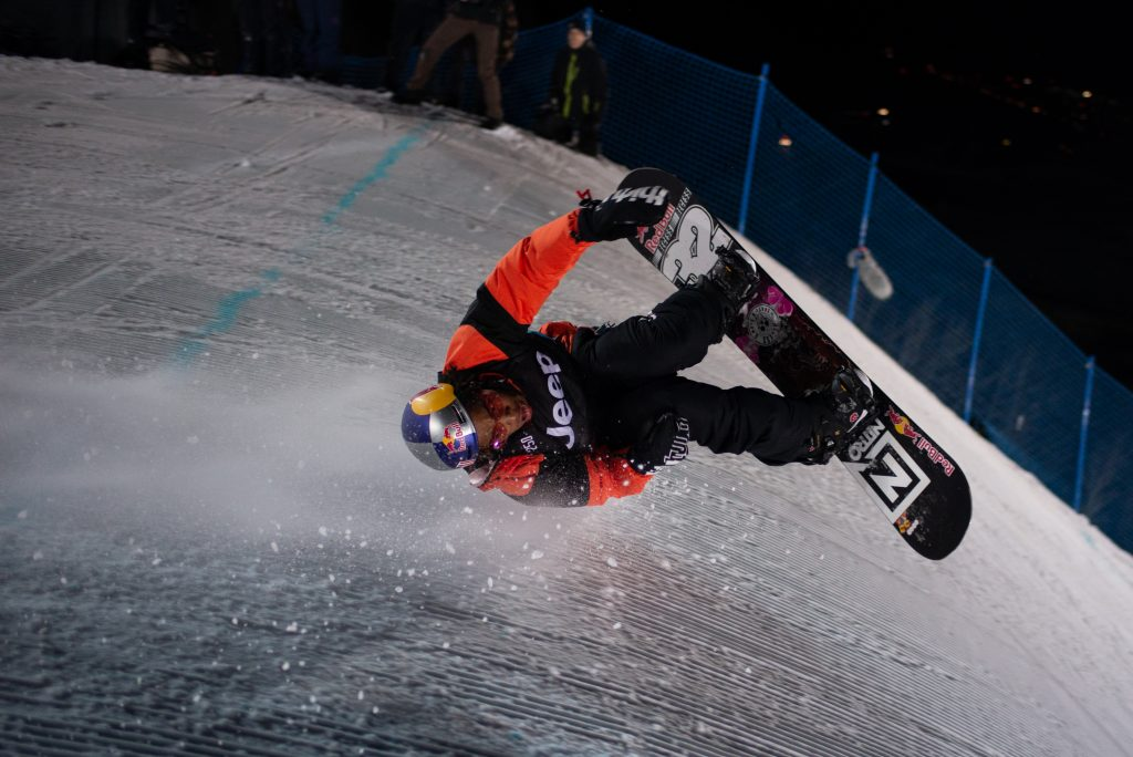 Watch: 20-year-old snowboarder Zeb Powell blows minds with knuckle huck win